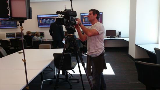 Filming Griffith University (2 of 5)