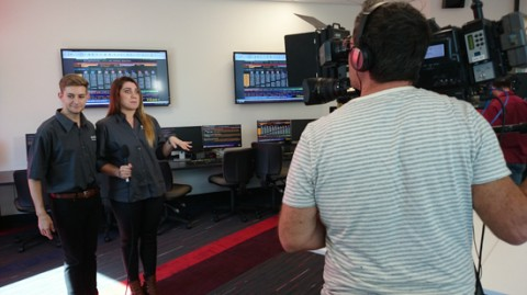 Filming Griffith University (3 of 5)